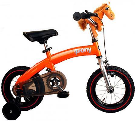 """Велосипед Royal baby Pony 12"""" оранжевый"""