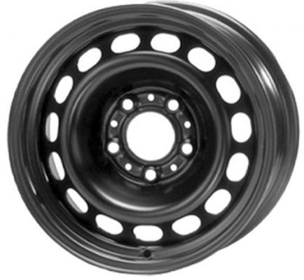 Диск ТЗСК Volkswagen Polo 6xR15 5x100 мм ET38 Черный штампованный диск тзск ваз 2112 5 5x14 4x98 d58 6 et35 s