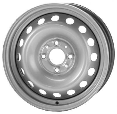 Диск ТЗСК Hyundai Solaris/Kia Rio 3 6xR15 4x100 мм ET48 Серебристый штампованный диск тзск ваз 2112 5 5x14 4x98 d58 6 et35 s