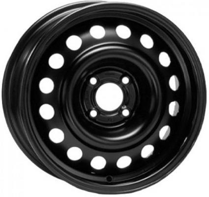 Диск ТЗСК Hyundai Solaris/Kia Rio 6xR15 4x100 мм ET48 Черный штампованный диск тзск ваз 2112 5 5x14 4x98 d58 6 et35 s