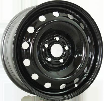Диск ТЗСК Ford Focus 2 6xR15 5x108 мм ET52.5 Черный