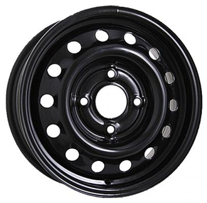 Диск ТЗСК Chevrolet Aveo 6xR15 5x105 мм ET39 Черный литой диск yamato minamoto no eriie 6x15 5x105 et39 56 6 r ray