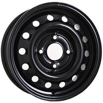 Диск ТЗСК Nissan Qashqai 6.5xR16 5x114.3 мм ET40 Черный штампованный диск тзск ваз 2112 5 5x14 4x98 d58 6 et35 s