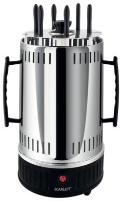 Электрошашлычница Scarlett SC-KG22601 серебристый