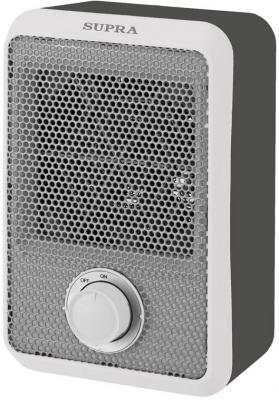 Тепловентилятор Supra TVS-F08 800 Вт термостат вентилятор белый серый