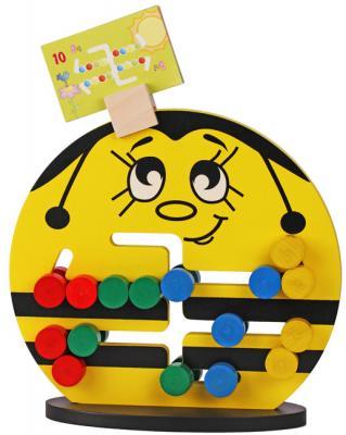 Логическая игрушка Краснокамская игрушка ЛИ-04 Пчелка логическая игрушка краснокамская игрушка ли 01 лягушка