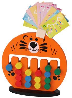 Логическая игрушка Краснокамская игрушка ЛИ-05 Тигренок краснокамская игрушка деревянная пирамидка краснокамская игрушка семицветик