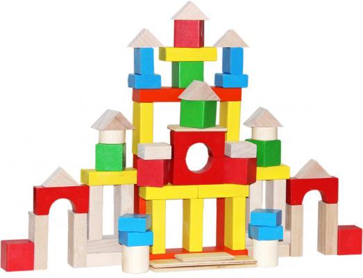 Конструктор Краснокамская игрушка НСК-05 Строим сами окрашенный конструктор краснокамская игрушка к 02 пираты 40 элементов