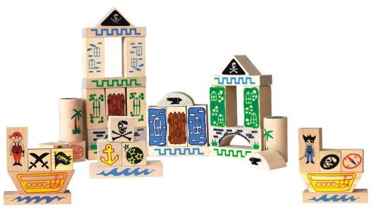 Конструктор Краснокамская игрушка К-02 Пираты 40 элементов конструктор краснокамская игрушка к 02 пираты 40 элементов