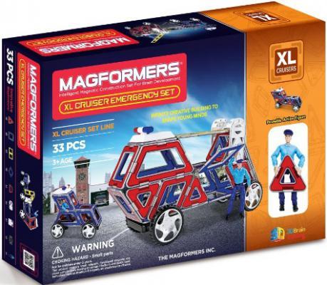Магнитный конструктор Magformers cruisers службы спасения 33 элемента 63079/706002