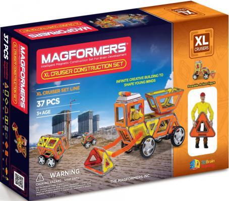 Магнитный конструктор Magformers Круизер Строители 37 элементов 63080/706003