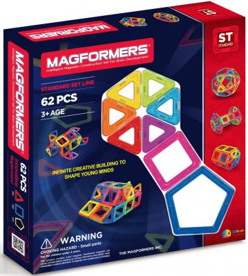 Магнитный конструктор Magformers 63070/701007 62 элемента