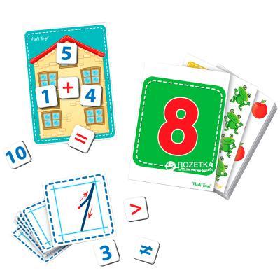 Настольная игра Vladi toys развивающая Дидактический материал с магнитами Математика VT3701-03