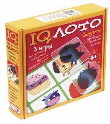 Настольная игра АЙРИС-ПРЕСС лото Силуэты (4+) 25300 айрис пресс обучающая игра счет и форма для детей 4 6 лет