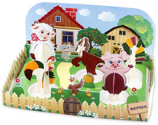 "Набор для опытов Волшебные кристаллы ""Веселая ферма"" CD-021B-1 пазлы learning journey набор пазлов веселая ферма"
