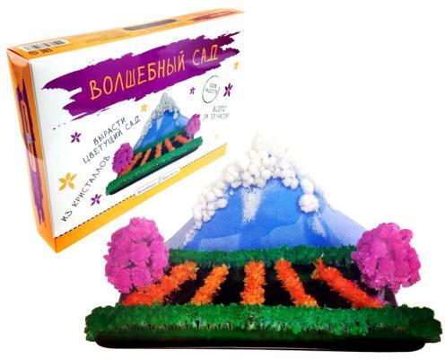"""Набор для опытов Волшебные кристаллы """"Волшебный сад"""" CD-018B-1"""
