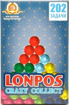 Головоломка LONPOS Crazy Collect от 6 лет lonpos202