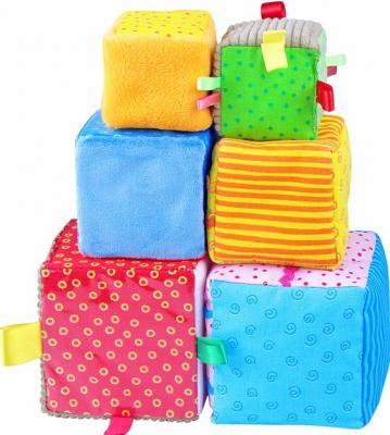 Купить Кубики МЯКИШИ Умные кубики 271 от 3 лет 6 шт, Кубики и стенки