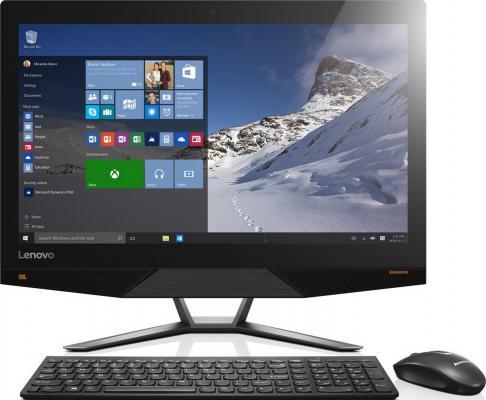 "Моноблок 23.8"" Lenovo IdeaCentre AIO 700-24ISH 3840 x 2160 Intel Core i7-6700 16Gb 1Tb + 128 SSD nVidia GeForce GTX 950A 4096 Мб Windows 10 Home черный F0BE00FJRK"