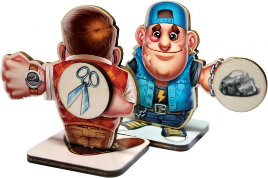 Купить Настольная игра Dojoy для вечеринки Камень, ножницы, бумага —ЦУ-Е-ФА DJ-BG07, 37 х 5 х 24 см., Игры для компании