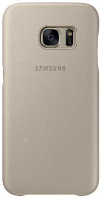 Чехол Samsung EF-VG930LUEGRU для Samsung Galaxy S7 Leather Cover бежевый vg c99am