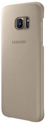 Чехол Samsung EF-VG935LUEGRU для Samsung Galaxy S7 edge Leather Cover бежевый