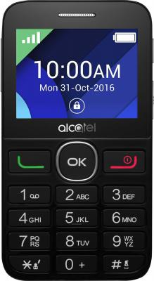 Мобильный телефон Alcatel Tiger XTM 2008G черный 2008G-3EALRU1 мобильный телефон alcatel 2008g tiger xtm silver серебристый