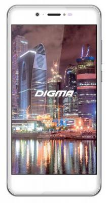"Смартфон Digma Vox Flash 4G белый 5"" 8 Гб LTE GPS Wi-Fi 3G"