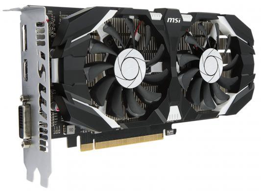 Видеокарта 4096Mb MSI GeForce GTX 1050 Ti 4GT OC PCI-E 128bit GDDR5 DVI HDMI DP HDCP GTX 1050 Ti 4GT OC Retail