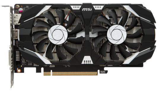Видеокарта MSI GeForce GTX 1050 Ti GTX 1050 Ti 4GT OC PCI-E 4096Mb 128 Bit Retail