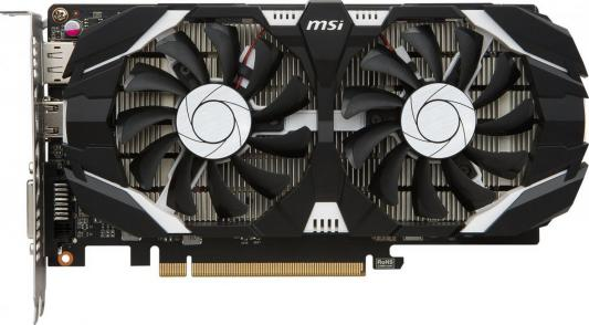 Видеокарта 2048Mb MSI GeForce GTX1050 2GT OC PCI-E 128bit GDDR5 DVI HDMI DP HDCP GTX GTX1050 2GT OC Retail