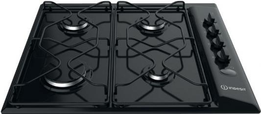 Варочная панель газовая Indesit PAA 642 /I(BK) черный