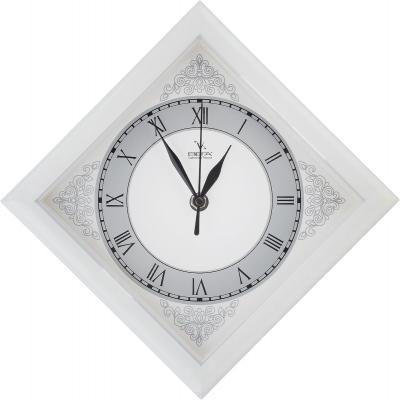 Часы настенные Вега П3-7-134 белый кронштейн kromax vega 50 белый