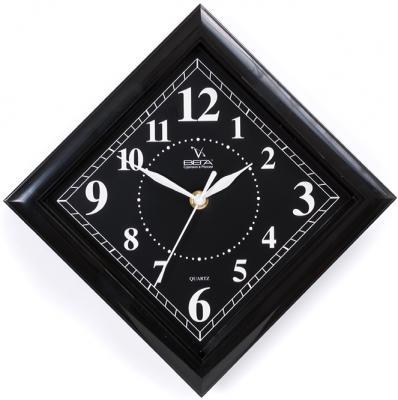 Часы настенные Вега П3-6-50 чёрный