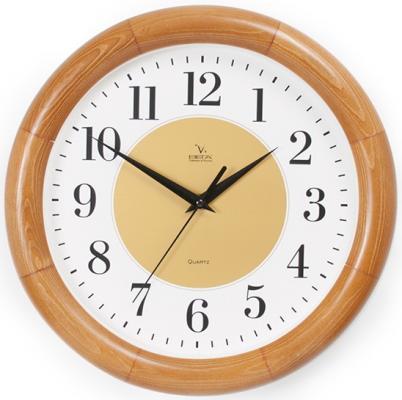 Часы настенные Вега Д1О/7-233 коричневый кронштейн kromax vega 50 белый