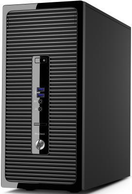 Системный блок HP ProDesk 400 G3 MT  i5-6500 3.2GHz 4Gb 500Gb HD530 DVD-RW Win10Pro клавиатура мышь черный X3K55EA