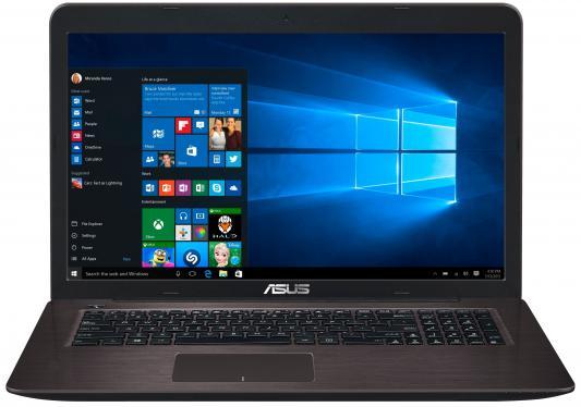"""Ноутбук ASUS X756UA-TY160T 17.3"""" 1600x900 Intel Core i5-6200U 90NB0A01-M01970"""