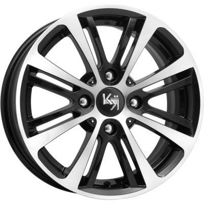 Диск K&K Беринг (КС653) 5.5xR14 4x98 мм ET35 Алмаз черный