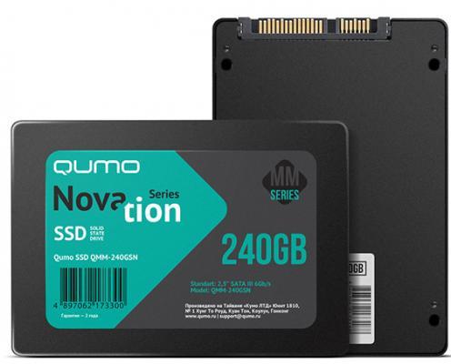 """все цены на SSD Твердотельный накопитель 2.5"""" 120GB QUMO QMM-120GSNND SATA"""