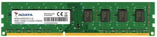 Оперативная память 2Gb PC3-12800 1600MHz DDR3 DIMM A-Data AD3U160022G11-R