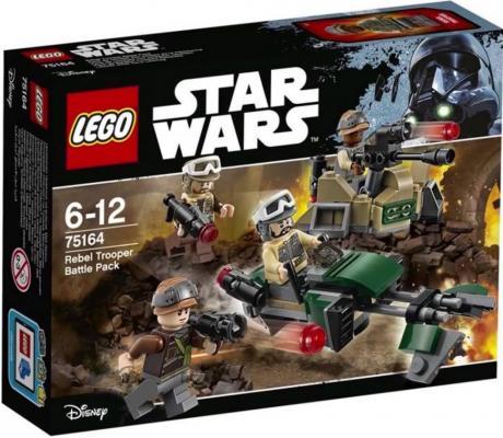 Конструктор Lego Star Wars: Боевой набор Повстанцев  75164