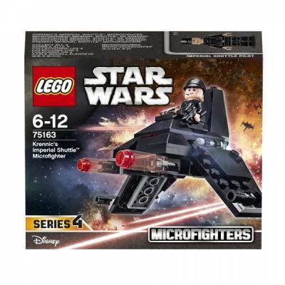 Конструктор LEGO Star Wars: Микроистребитель Имперский шаттл Кренника 75163 star wars 75104 командный шаттл кайло рена