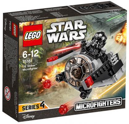 Конструктор Lego Star Wars: Микроистребитель-штурмовик TIE lego lego star wars microfighters 75160 микроистребитель типа u