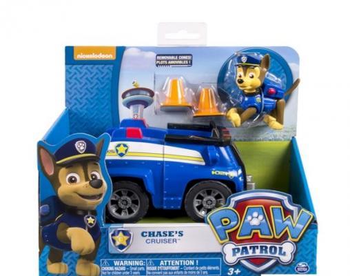 Игровой набор Paw Patrol Машинка спасателя и щенок 16601-Cha 2 предмета