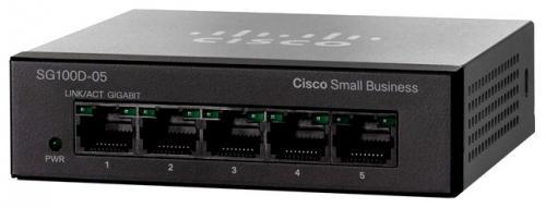 Коммутатор Cisco SB SG110D-05-EU 5 портов 10/100Mbps