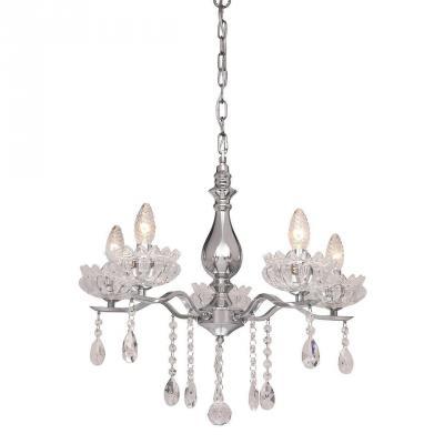 Подвесная люстра Silver Light Venere 724.54.5 silver light люстра подвесная silver light cерия venere хром 8xе14x60w