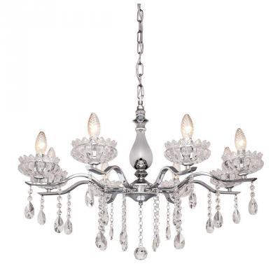 Подвесная люстра Silver Light Venere 724.54.8 silver light люстра подвесная silver light cерия venere хром 8xе14x60w