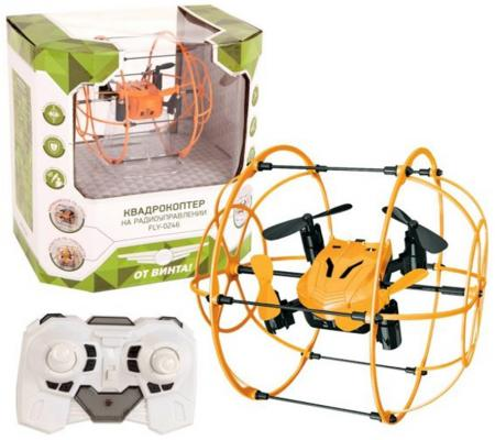 Квадрокоптер на радиоуправлении От Винта Fly-0246 от 7 лет пластик 87240 от винта от винта радиоуправляемая игрушка квадрокоптер fly 0247 версия base