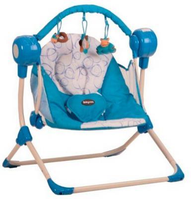 Кресло-качели Baby Care Balancelle c Д/У (blue)