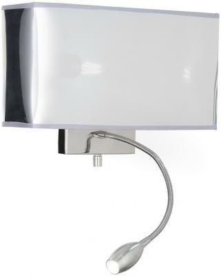 Купить Настенный светильник Ideal Lux Hotel AP2 Cromo